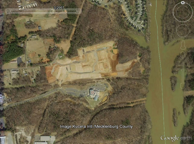 Google map of Stowe Family YMCA in March 2007