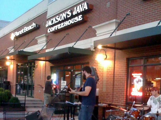 Jackson's Java exterior in Charlotte, North Carolina.