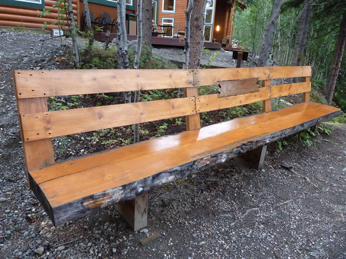 Ira Yarmolenko memorial in Alaska full bench
