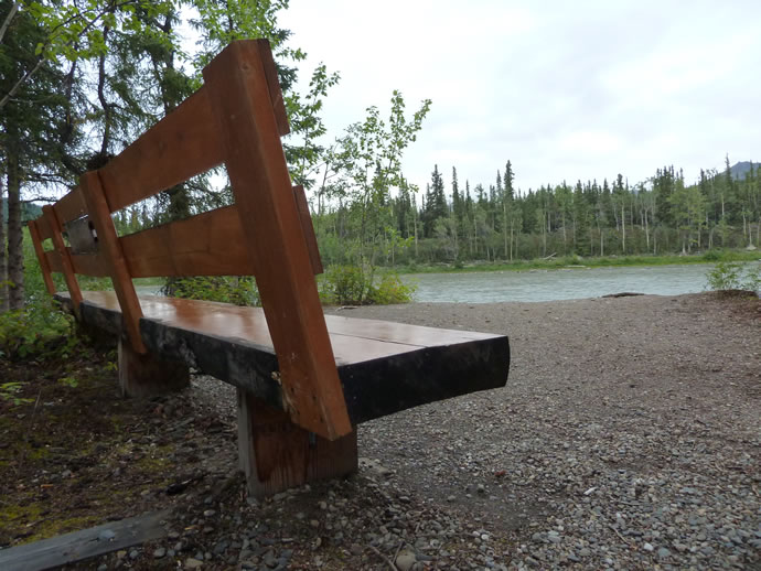 Ira Yarmolenko memorial in Alaska back view